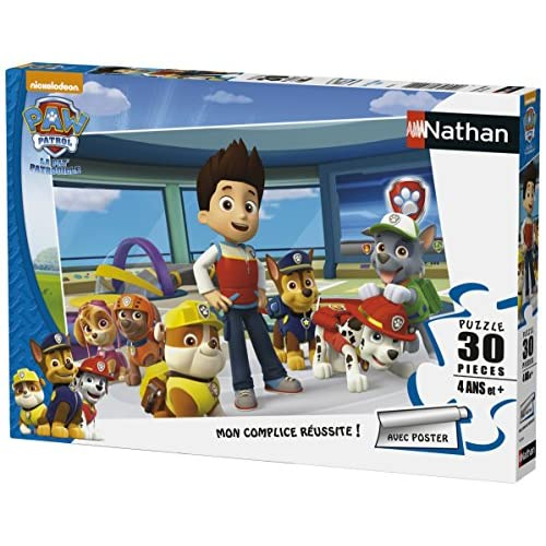 Nathan - 86354 - Puzzle - Pat 'Patrouille - 30 Pièces