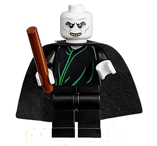 LEGO Harry Potter - Lord Voldemort Minifigure with Cape and Wand 2016