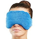 #5: NatraCure Warming/Cooling Eye Pillow – (For Relaxation, migraine headaches, sinus pain and pressure, puffy or swollen eyes)
