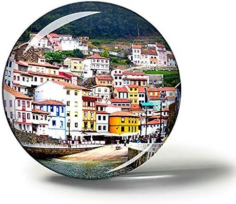 Hqiyaols Souvenir España Cudillero Asturias España Imanes Nevera ...