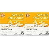 Avalon Organics Intense Defense with Vitamin C Renewal Cream, 2 oz (Pack of 2) Review