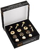 Bach Stradivarius Trumpet Gold Trim Kit Heavy Bottom Caps
