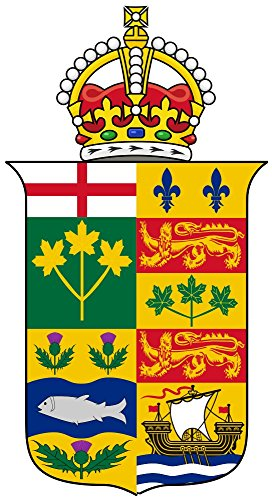 magFlags XL Flag Crest of The Governor General of Canada 1901-1921 | Portrait Flag | 2.16m² | 23sqft | 220x110cm | 86x43inch - 100% Made in Germany - Long Lasting Outdoor Flag