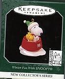 Hallmark Keepsake Ornament Winter Fun With SNOOPY 1998 QXM4243