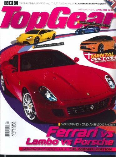 TOP GEAR Ferrari Fiorano Lamborghini Murcielago Porsche Civic Type-R 4 2006