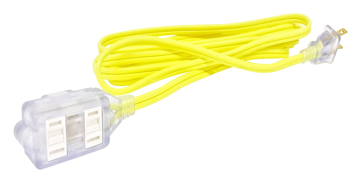 Bold 50025 CoolQubez Green 9-Foot 16//2 Lighted End Cube Tap Extension Cord Bold Inc