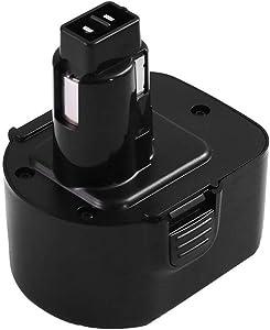 3.6Ah for Dewalt 12V Replacement Battery Ni-MH XRP DW9072 DC9071 DCB120 DW9071 DW953 DE9074 DE9072 Cordless Power Tool