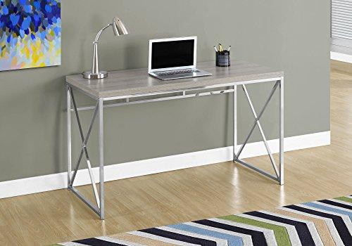 Best Monarch Writing Desks - Monarch Chrome Metal Computer Desk, 48
