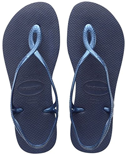 Blue Havaianas Femme 0555 navy Sandales Bleu Luna wxFxnqCp