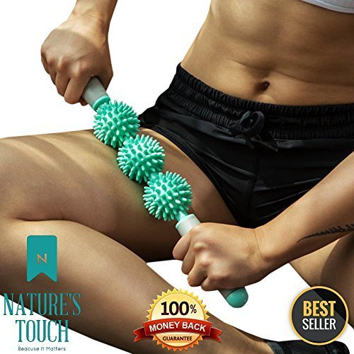 Cellulite Roller Remover & Massager. Anti-Cellulite & Fascia Roller That Eliminates Cellulite, Knots, Leg, Neck & Back Pain While Toning Your Butt & Thighs. Deep Tissue Massage At Your Fingertips, by Nature's Touch (Image #6)