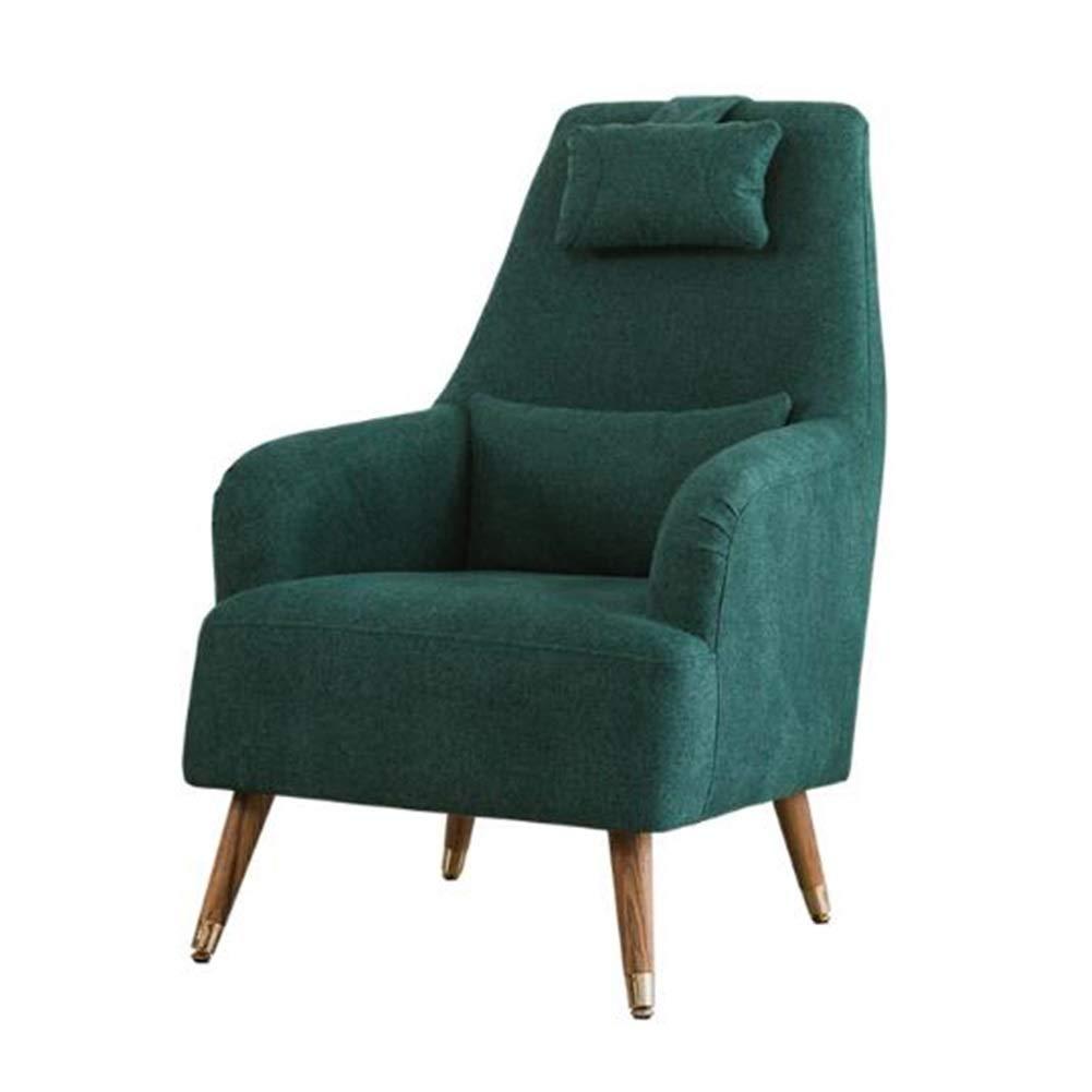 Amazon.com: YQQ-Lazy - Sofá de madera maciza para salón ...