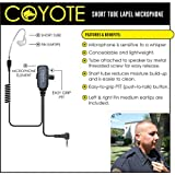 Earphone Connection COYOTE Lapel Mic Headset for Vertex VX Radios (See List)