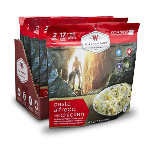 Wise Company Pasta Alfredo with Chicken Camping Food (Case of 6)