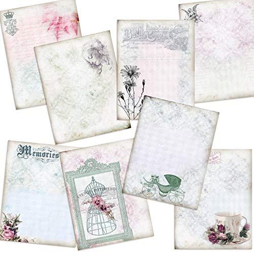 Shabby Chic Journal Paper Pack - EZ Journal -