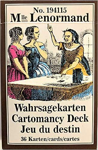 Lenormand Wahrsagekarten: 36 Karten mit Anleitung: Amazon.es ...