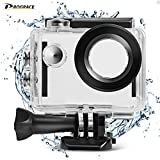 DROGRACE Waterproof Case Underwater Action Camera Housing Case Protective Housing Shell Compatible For SJCAM SJ4000 AKASO EK7000 EK5000 FITFORT DBPOWER EKEN