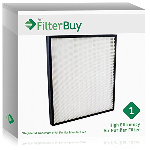 Hunter Hepa Filter - FilterBuy Hunter 30940 Replacement Filter. Designed by FilterBuy to fit Hunter Air Purifier Series 30210, 30214, 30215, 30216, 30225, 30260, 30398, 30400 & 30401.