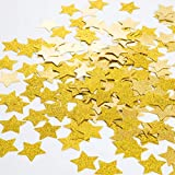 Star-shape Glitter Confetti Wedding Birthday Baby Shower Party Decorations, 1.2 Inch Diameter, 200pcs