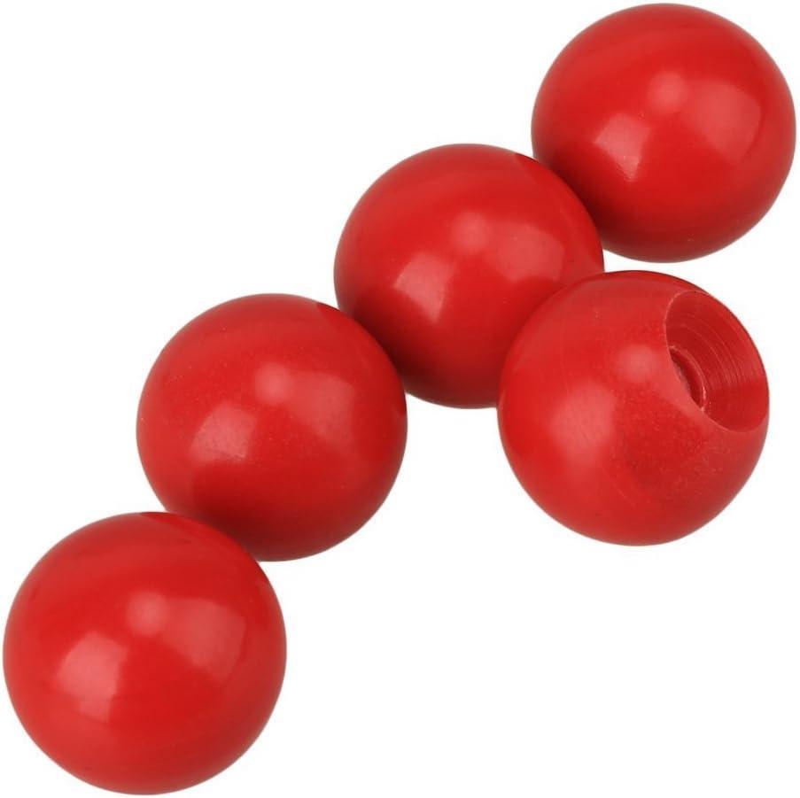 cnbtr rojo bola forma de pelota de pomo mango máquina operación ...