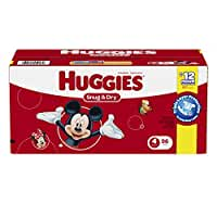Huggies Snug and Dry Diapers Size 4- 96 Count