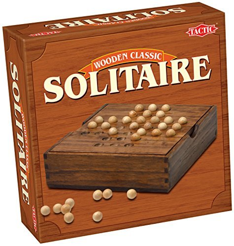 Classic Solitaire  Wood by Tactic Games UK