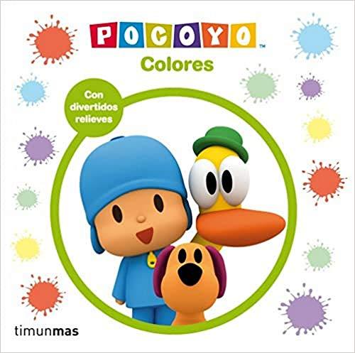 Pocoyo Colores Con divertidos relieves (Pocoyo)