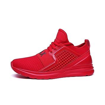 61868a02a6dd64 YAYADI Schuhe Herren Sneaker Herren Schuhe Slipper Lac-Up Mesh Wasserschuhe  Wandern Leichte Bequeme Atmungsaktive