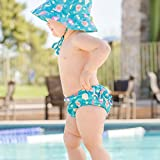 Bumkins Reusable Swim Diaper and Hat, UPF