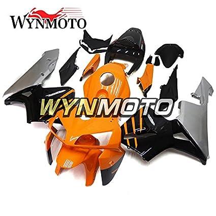 Amazon Com Wynmoto Motorcycle Body Kit Orange Black Grey For Honda