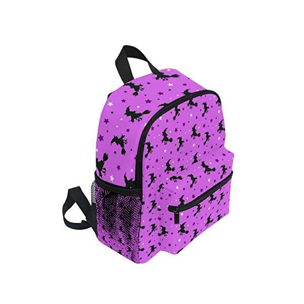 Halloween Strega Rosa Kid Zaino Scuola Bookbag Bambini Viaggio Daypack Ragazza Ragazzo 3-8 Anni Bambino Scuola… 2 spesavip