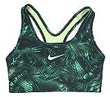 Nike Women`s Pro Classic Swoosh Overdrive Printed Sports Bra