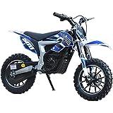 USA Big Toys 36v Electric Dirt Bike 500w Lithium Blue