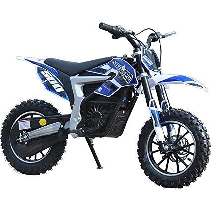 Amazon Com Usa Big Toys 36v Electric Dirt Bike 500w Lithium Blue