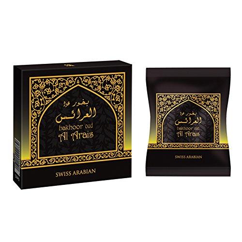 SWISSARABIAN Oud Al Arais Bakhoor (40g) Incense by SWISSARABIAN