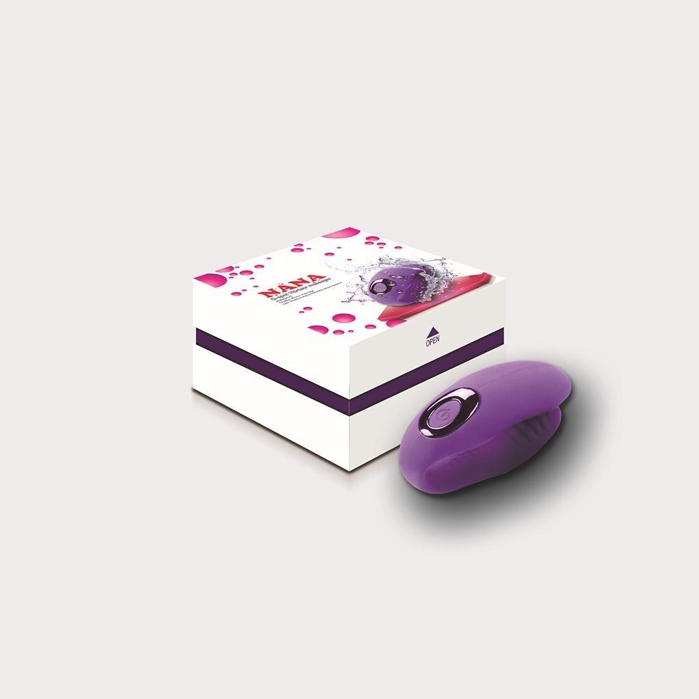 Mirlun 10 Frecuencia Tipo U G Impermeable Vibrador Mujer Punto G U Masturbación Masajeador , Purple a5205b