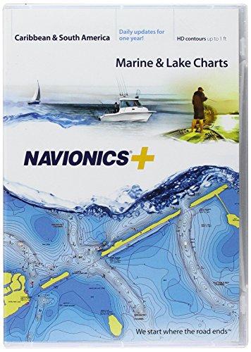 Navionics Navionics Pc (Navionics Caribbean & S. America, CF Card Nautical Chart on Compact Flash Card - CF/NAV+3XG)
