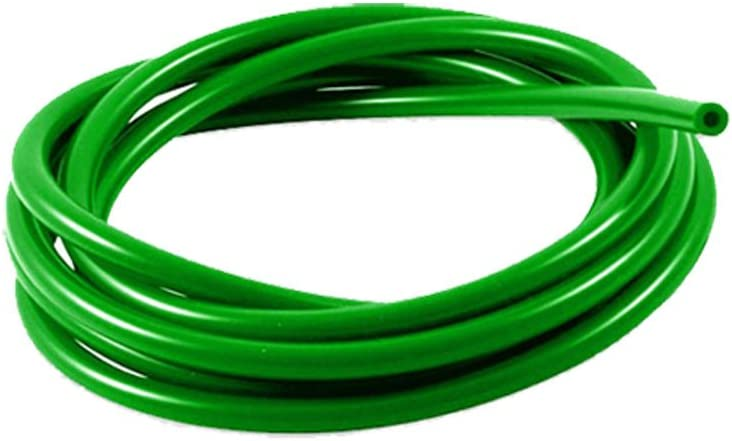 AutoSiliconeHoses 3mm ID Green 4 Metre Length Silicone Vacuum Hose