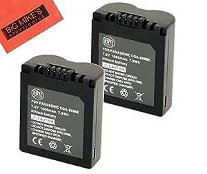 Pack of 2 cga s006 batteries for panasonic lumix dmc fz7 - Batterie panasonic lumix dmc fz18 ...