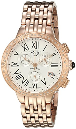 GV2-by-Gevril-Womens-ASTOR-Chronograph-Swiss-Quartz-Stainless-Steel-Casual-Watch-ColorRose-Gold-Toned-Model-9132
