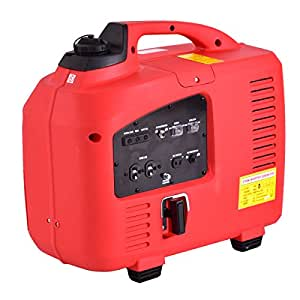 New MTN-G Portable 2750W Digital Inverter Generator 4 Stroke 125cc Single Cylinder Red
