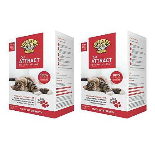 Dr Elsey Cat Attract Cat Litter - Dr. Elsey's Precious Cat, Attract Training Cat Litter, 20 Lb. - 2 Pack