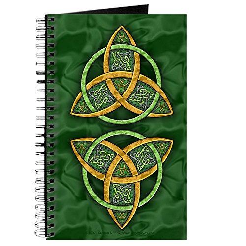 CafePress - Celtic Trinity Knot Journal - Spiral Bound Journal Notebook, Personal Diary, (Trinity Spiral)