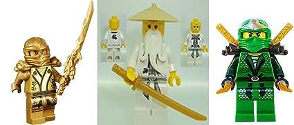 Amazon.com: LEGO Ninjago – Minifigura Lot de 3 Lloyd ZX ...