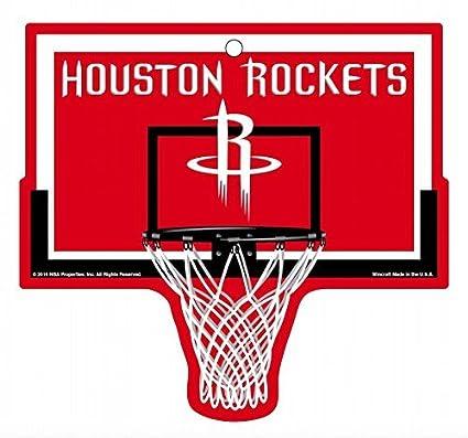 76735d41207f7 Amazon.com : Houston Rockets NBA Basketball Hoop Street Sign ...