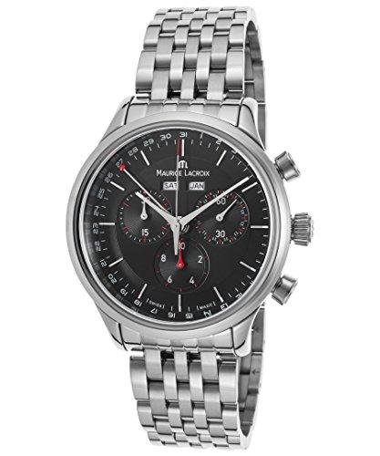 maurice-lacroix-lc1228-ss002-331-mens-les-classiques-chronograph-ss-black-dial-ss-watch