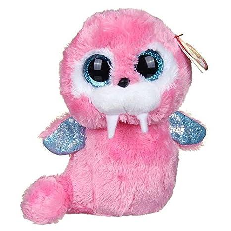 Amazon.com  Ty Beanie Boos Tusk - Pink Walrus 6