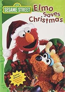 Amazon.com: Sesame Street: Elmo Saves Christmas: Karin ...