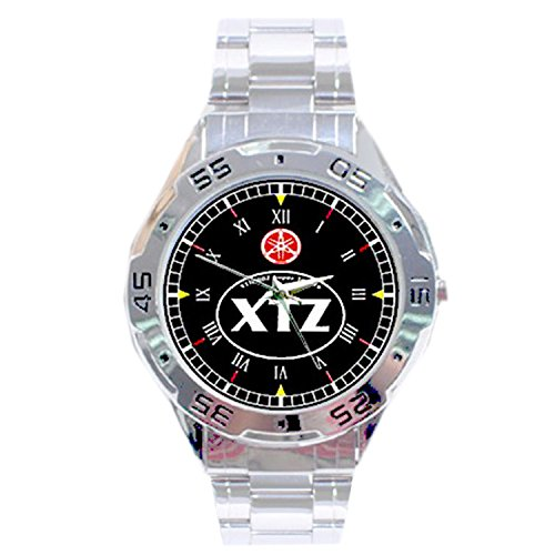MRZK123 NEW RARE Yamaha XT 1200 Z Super Tenere CUSTOM CHROME MEN'S WATCH WRISTWATCHES