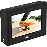 Ikan VL35 3.5 4K HDMI On-Camera LCD Monitor with Canon LP-E6 Battery Plate