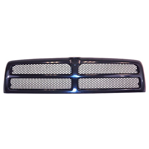 Perfit Liner New Front Black Grille Grill Replacement For Dodge Ram Pickup Truck 1500 2500 3500 Fits CH1200188 5EZ51RX8